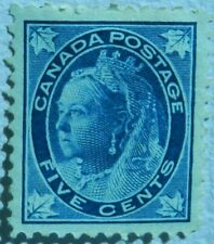 Canada 1897  5c Unused No Gum SG 146 cat £70