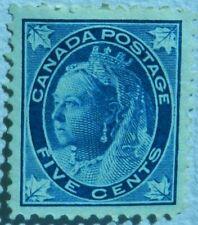 Canada 1897  5 Cent  Unused No Gum  SG 146 catalogue £70