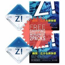 ROHTO Z! 2 X Eye Drops Super Cooling Eye Drop / Free Shipping From Japan!!