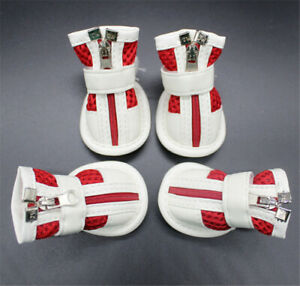 Dog Paw Protective Boots for Small Dog Nonslip Breathable Mesh Pet Shoes 4pcs