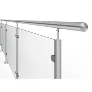 Edelstahlkleber Kleber Spezialkleber Edelstahl Geländer Fitting Verbinder Treppe