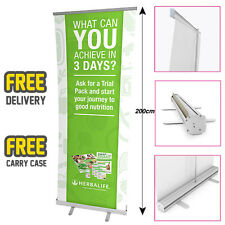 HERBALIFE Printed Roller Banner/Pop/Pull up Exhibition Stand - 3 DAY TRIAL 2