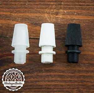 Vintage plastic cord grip #1 pendant strain relief cable lock 10mm 3 colours