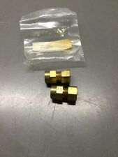 Lot Of 2, New, Geolink, 71-4810, Fpt Flow Center Connectors. (13E-2)