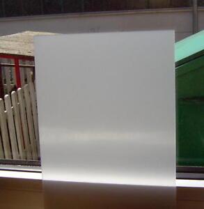 2mm Plexiglas Weiß Milchglas Opal Acrylglas Scheibe individueller Zuschnitt