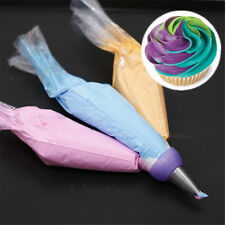 3 Color Cake Decorating Tools Icing Piping Cream Pastry Bag Nozzle Converter Hot
