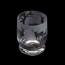 Dartington Aspect Hand-Finished Stag Tumbler Glass in a Box