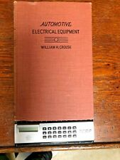Automotive Electrical Equipment by William H. Crouse 1942