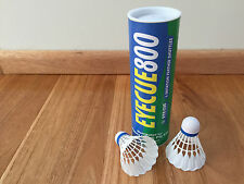 12x EYE CUE 800 Imitation Feather Nylon Plastic Badminton Shuttles Shuttlecocks
