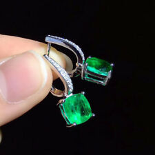 Luxury! Inspired Emerald Earrings,High Imitation Emerald Earrings