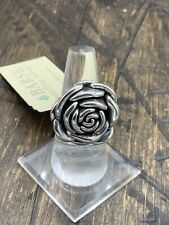 Barse By Modes Rockin' Rose Ring-Sterling Silver-8-New With Tags