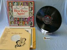 Hear Them Again! - Various (Box Set 10 LP)