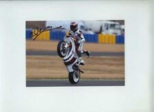 Mashel Al Naimi Moriwaki Moto 2 French GP 2011 Signed