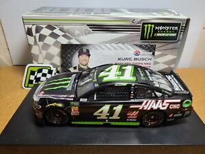 2018 Kurt Busch #41 Monster/Haas Bristol Win SHR Chevy 1:24 NASCAR Action MIB