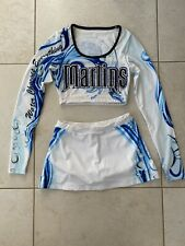 Cheerleading Team Uniforms - White, Blue, Black, 4 Of These Are Available.