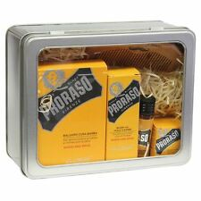 Proraso Wood & Spice Beard Kit - Balm, Oil, Hot Oil, Moustach Wax + Comb