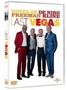 Dvd LAST VEGAS - (2014) ** Michael Douglas, Robert De Niro, Morgan Freeman **NEW