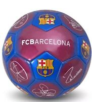 Official Licenced Football Club FC Barcelona Signature Football Size 5 Ball New
