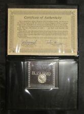 New ListingRoman Empire Ancient Silver Denarius in Blanchard Holder w/ Coa