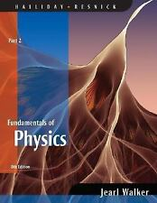 Fundamentals of Physics, Part 2, 8th Edition, Halliday, David, Resnick, Robert,