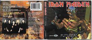 Iron Maiden - Futureal - Very rare UK 1998 4 track Enhanced CD w/ poster