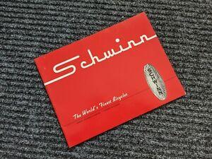 SCHWINN Bicycle Company 1961 Original Dealer Bike Manual - Trade Publication-NOS