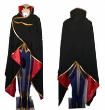 NEW Code Geass Lelouch of the Rebellion ZERO Cosplay Costume 2nd version