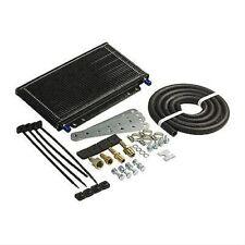 B & M 70264 Transmission Oil Cooler Large Supercooler 14400 BTU Rating Black