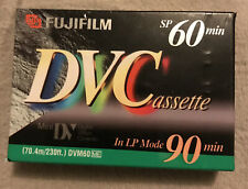 FUJIFILM DVC Mini DV Video Cassette Tape 60/90 minute NEW & SEALED