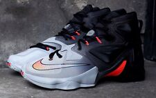 Nike Lebron James XIII 13 Wolf Grey/ Black UK 14 EUR 49.5EXTREMELY RARE!! BNIB
