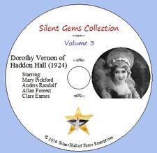 "DVD ""Dorothy Vernon of Haddon Hall"" (1924) Mary Pickford, Classic Silent Drama"