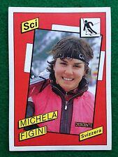 SUPERSPORT 1986 n 176 MICHELA FIGINI Sci , Figurina Sticker Panini NEW