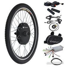 "36V500W Bicicleta Eléctrica E-Bike Conversión Motor Juego Rueda Delantera 26"""