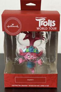 Poppy Hallmark 2020 Ornament Trolls World Tour - NEW - 2HCM7883