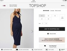 Topshop Jersey Maternity Clothing