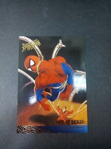 1995 Fleer Ultra Spider-Man Web Of Death Card #96