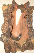 Latex Craft Mould Horse Head Plaque Reusable Art & Crafts Hobby Business