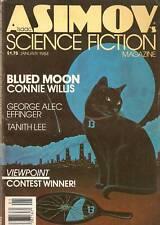 Asimov Sf Jan 1984 84 Willis Effinger Lee