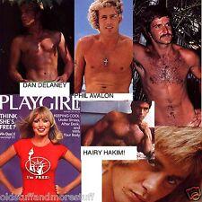 PLAYGIRL 8-77 AUGUST 1977 DAN DELANEY HAIRY JIMMY ERNIE LEACH JEFF MORRISON