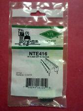 NTE 16 Lead DIPIC Socket (Anti-Stat)