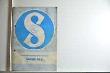 Reparaturanweisung Sachs 50S Nr. 302.8/2