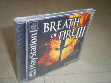 BREATH OF FIRE 3.PS1 NTSC CASE+INLAYS ONLY.NO GAME