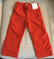 Gymboree Pull On Pants~Gymster~Toddler Boy Size 2T~NWT~Jersey Lining~Kids Bottom