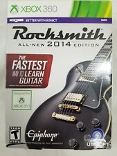 Rocksmith 2014 Edition Microsoft Xbox 360 2013 Missing Real Tone Cable