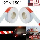 """Conspicuity Tape Reflective Trailer Safety Warning Sign 2""""x150' DOT-C2 Approved"""