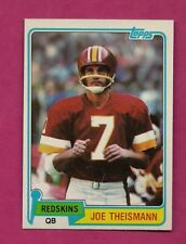 1981 TOPPS # 165 REDSKINS JOE THEISMANN  NRMT-MT CARD (INV# A6270)