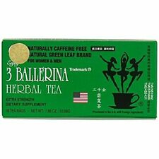 3 BALLERINA EXTRA STRENGTH NATURAL DIETERS HERBAL 18 TEA BAGS