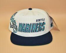 Seattle Mariners Sports Specialties Laser Shadow Vintage 90's Snapback Cap Hat