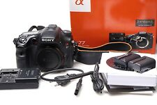 Sony Alpha SLT-A77V 24.3 MP SLR-Digitalkamera - Schwarz (Nur Gehäuse)