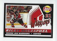 2006-07 Moose Jaw Warriors (WHL) Riley Holzapfel (Vienna Capitals)